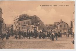 Cartolina - San Benedetto Del Tronto - Piazza D'Armi - Ascoli Piceno
