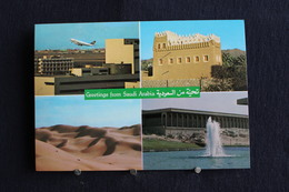 I - 21 /  Asie - Arabie Saoudite, Greetings From Saudi Arabia / Circule - Arabie Saoudite