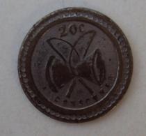 Jeton 014, Paris P Bussoz 20 C à Consommer - Monétaires / De Nécessité