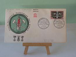 École Des Mines - Paris - 11.4.1959 -(Numismatique Française)- Coté 2,50€ - FDC