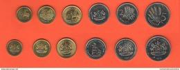 Lesotho Set Serie 6 Monete MALOTI LISENTE - Lesotho