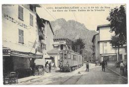 Roquebillière - La Gare De Tram - Vallée De La Vésubie - - Roquebilliere