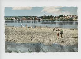 Pouilly Sur Loire : La Plage (cp Vierge N°11 Lys) - Pouilly Sur Loire