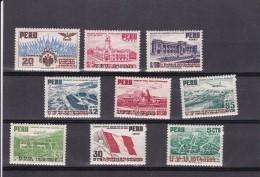 Peru Nº A87 Al A95 - Perú