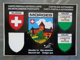 CARTE AUTOCOLLANTE DE MORGES - VD Vaud