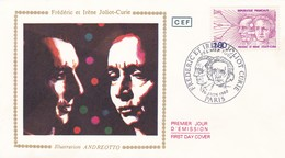 FRANCE 1982 FDC IRENE ET FREDERIC JOLIOT CURIE YT 2218 - FDC