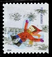Etats-Unis / United States (Scott No.4944 - Plaisir D'hiver / Winter Fun) (o)  P3 Small ATM - Etats-Unis