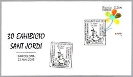 SAN JORGE - SAINT GEORGES - SAINT GEORGE - SANT JORDI. Barcelona 2003 - Cristianismo