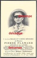 Oorlog Guerre Pierre Flamand Mariakerke Gent Gesneuveld Te Passendale 27 Mei 1940 Kapitein 4 Lanciers Dobbelaere Helene - Devotion Images