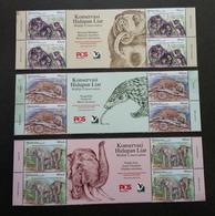 Malaysia Wildlife Conservation 2019 Bear Elephant Wild Animals Fauna (stamp Title) MNH - Malaysia (1964-...)