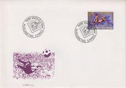 Liechtenstein 1989 World Cup Football 1v  FDC (43883) - FDC