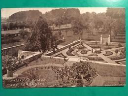 CPA, SOIRON, Château De Soiron, Les Terrasses, éditions Duquenne, écrite 1926? - Pepinster