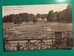 CPA, SOIRON, Château De Soiron, Jardin Français, éditions Duquenne Bruxelles, écrite En 1927?, Timbre - Pepinster