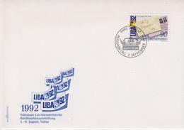 Liechtenstein 1992 Liba '92 1v  FDC (43885) - FDC