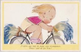 Bv - Cpa Illustrée ATTWELL - J'espère Que Tant De Peine Sera Récompensée - Phew ! And All For You ! - Attwell, M. L.