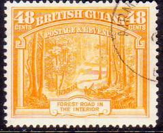 BRITISH GUIANA 1951 SG 314a 48c Used Perf. 14x13 - Guyane Britannique (...-1966)