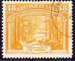 BRITISH GUIANA 1951 SG 314a 48c Used Perf. 14x13 - British Guiana (...-1966)