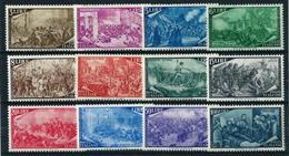 Italia Nº 518/29 Nuevo Cat.500€ - 1946-60: Mint/hinged