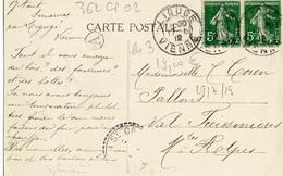 Smarves 86 Trois Cartes Postales Du Bourg 362CP02 - France