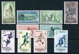 España Nº 1444/53 Nuevo Cat.12,80€ - 1931-Hoy: 2ª República - ... Juan Carlos I