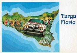 CARTOLINE MANIFESTAZIONE STORICA TARGA FLORIO RALLY DELLE MADONIE - Rally