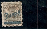 DANZIG1920:Michel33used Cat,Value350EUROS  ($392) Expertized (I Based Price On Lower Of 2 Cancelled Varieties) - Germany