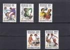 Togo Nº 1090 Al 1091 Y A483 Al A485 - Togo (1960-...)