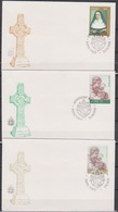 Irland 1978 MiNr.380,388,390 3 Belege Papstbesuch 29.IX.179 Und I.X.1979  ( D 5133 ) Günstige Versandkosten - Covers & Documents