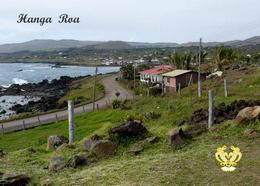 Easter Island Hanga Roa Rapa Nui UNESCO New Postcard Osterinsel AK - Rapa Nui