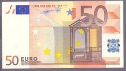 Niederlande, 50 Euro Duisenberg, G021 A4, Fast Unc. (aunc), Selten...!!! - EURO