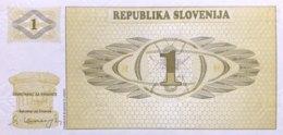 Slovenia 1 Tolar, P-1 (1990) - UNC - Eslovenia