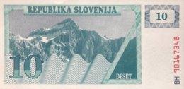 Slovenia 10 Tolarjev, P-4 (1990) - UNC - Eslovenia