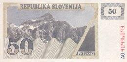 Slovenia 50 Tolarjev, P-5 (1990) - UNC - Eslovenia