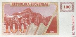 Slovenia 100 Tolarjev, P-6 (1990) - UNC - Slovénie