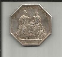 JETON ARGENT BANQUE DE FRANCE AN VIII - France