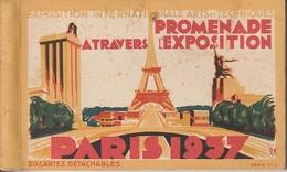 PARIS Exposition Arts Et Techniques De 1937 -- Carnet Complet  De 20 CPA - Expositions