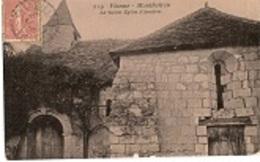 Monthoiron Vieille église D'Asnières 365CP02 - France