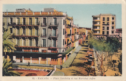 MASCARA Place Gambetta Et Rue Maréchal Joffre - Argelia