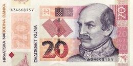 Croatia 20 Kuna, P-44 (30.5.2014) - UNC - 20 Years Kuna Currency - Croacia