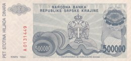 Croatia 500.000 Dinara, P-R32 (1994) - UNC - Croacia