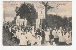 MONTAUTOUR - FETES DE N.D.DU ROC - 8 OCTOBRE 1908 - LE CLERGE RECONDUISANT LA VIERGE AU SANCTUAIRE - 35 - Other Municipalities