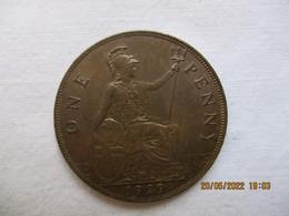 GB 1 Penny 1929 - 1902-1971 : Monete Post-Vittoriane