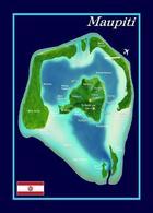 French Polynesia Maupiti New Postcard - Polinesia Francese