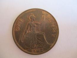 GB 1 Penny 1947 - 1902-1971 : Monete Post-Vittoriane