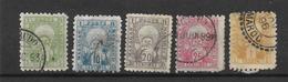 MAROC, POSTES LOCALES N°46 à 51 Sauf Le 50, Oblitérés, Cote 75€ - Morocco (1891-1956)