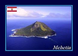 French Polynesia Mehetia Island View New Postcard - Polinesia Francese