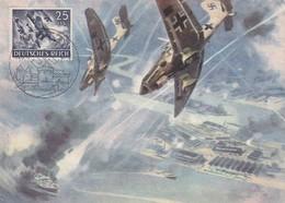 Allemagne : III Reich :   Kriegsopfer - Wandkalender : Oblitération Metz Et Recommandé - Autres