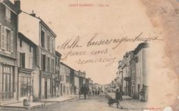 Drome : SAINT-RAMBERT D'ALBON : Une Rue - Ed. CHARVAT - état Mauvais - Manques Bas Droit Et Coté Droit Abimé  Précurseur - Other Municipalities