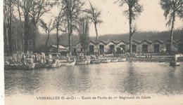 AN 509 / C P A  - VERSAILLES  - (78)  ECOLE DE PONTS DU 1 ER REGIMENT DU GENIE - Versailles