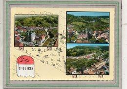 CPSM Dentelée - SAINT-QUIRIN (57) - Carte De Multi-vues Aériennes à La Borne Kilométrique En 1968 - Other Municipalities